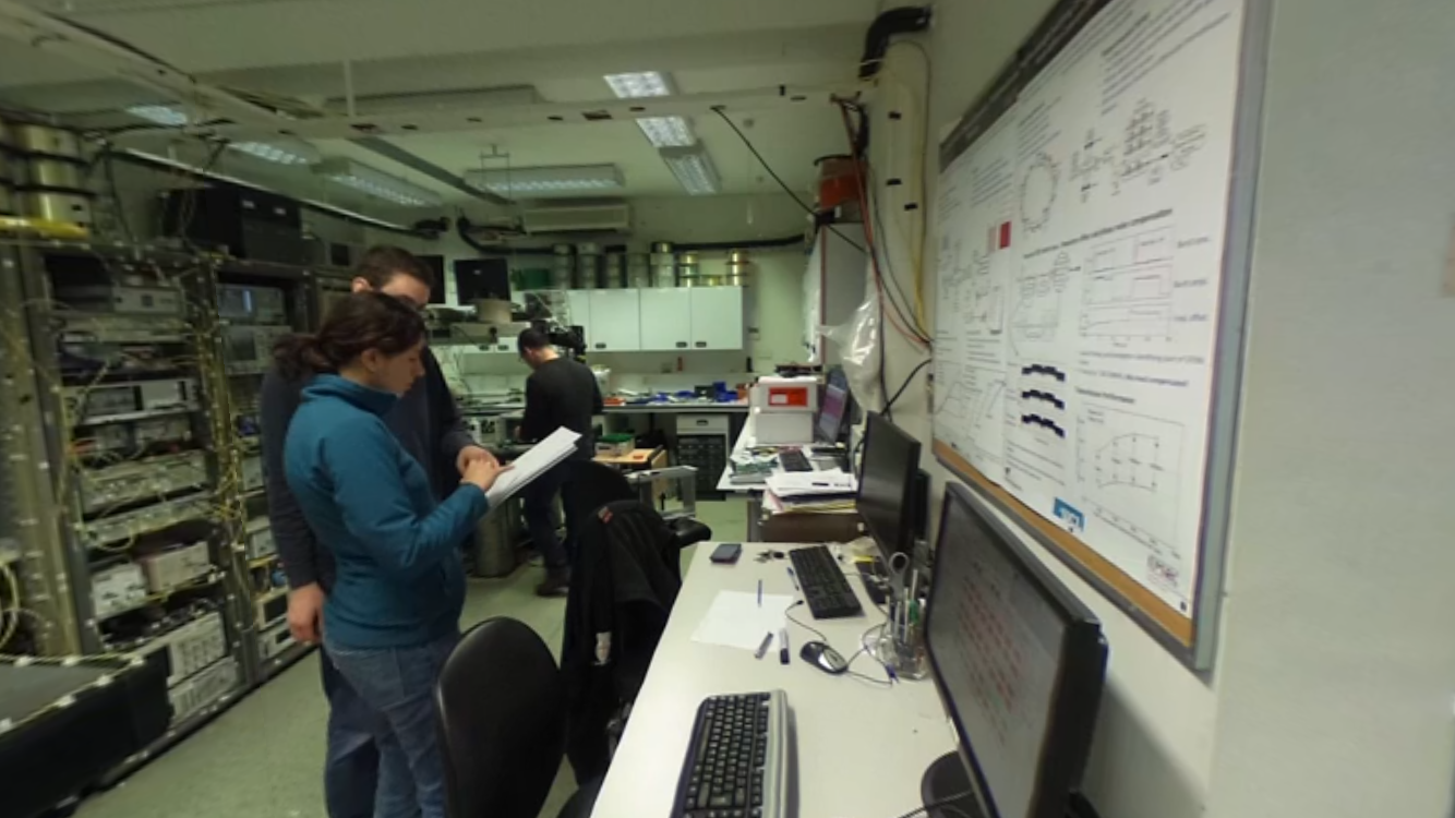 360 video - Take a tour of the UCL Optical Networks Lab