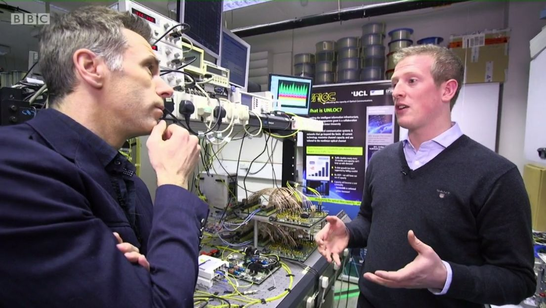 BBC technology show Click talks to UNLOC
